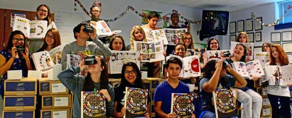 Yearbook Students Get Creative with Custom RetroViewers