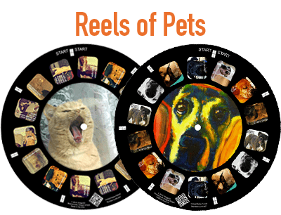Perfect Pet Photos on a RetroViewer