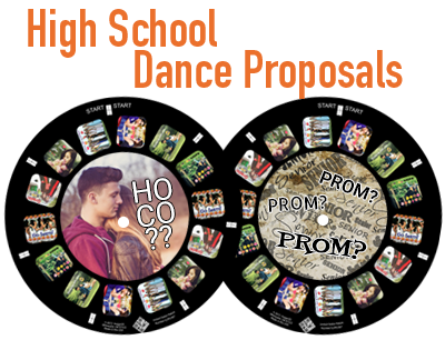 Ask your date to the dance with a custom reel