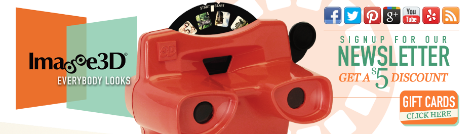Reel Builder|Custom Viewmaster, 3D Custom Reels, Photo Maker, & More | Everybody Looks! | Image3D