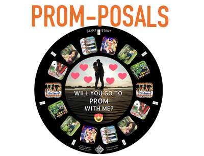 A unique way to ask your date to prom