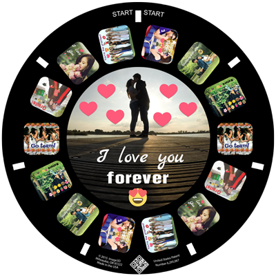 Tell your loved ones how you feel with a custom RetroViewer