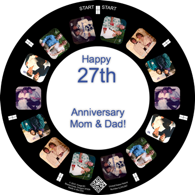An Anniversary Gift for your Parents