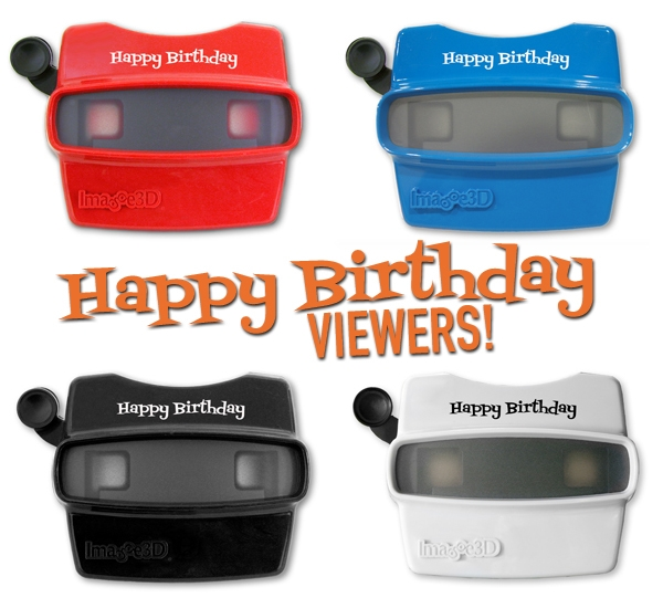 Specialty happy birthday viewers make the gift extra cool