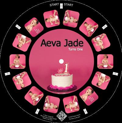 1st birthday cake smash keepsake reel