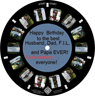 A custom RetroViewer is a unique birthday present