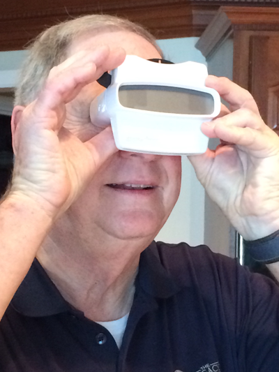 Dad's are always excited to get a personalized RetroViewer