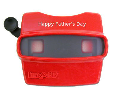 A one-of-a-kind Father's Day viewer