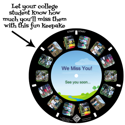 Tell them how much you miss them with a custom RetroViewer
