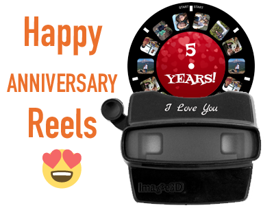 Happy anniversary reels are a popular gift for any number of years