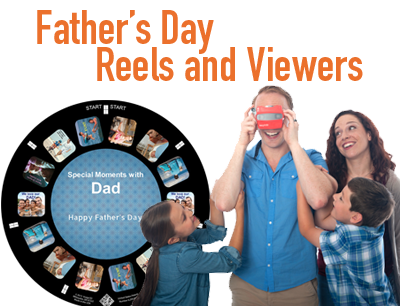 A RetroViewer is a unique gift for dad's of any age on Father's Day
