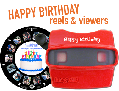 Happy birthday reels and viewers make a unique gift for anyone