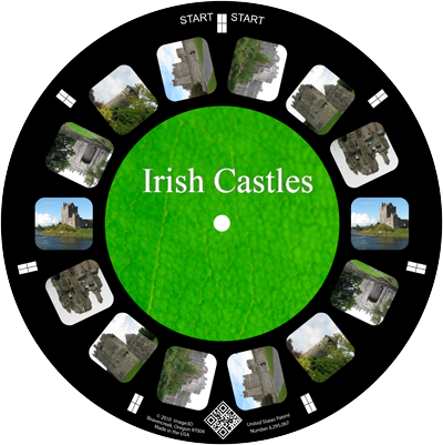A once-in-a-lifetime holiday to Ireland remembered on a custom reel