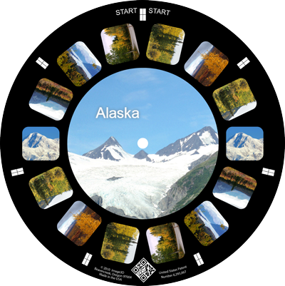 A trip to Alaska remembered on a custom reel viewer