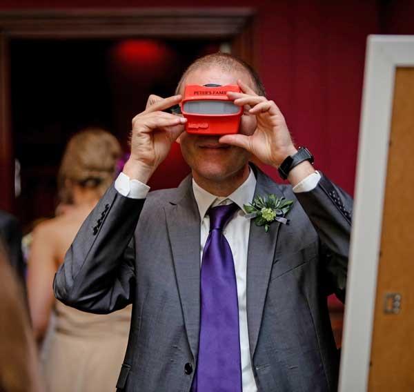 Custom RetroViewers as Unique Wedding Slideshows