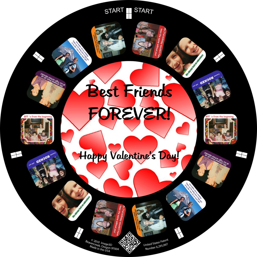 Valentine's Day to your BFF