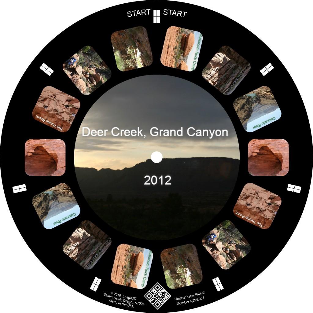 Hiking the Grand Canyon on a Custom Reel