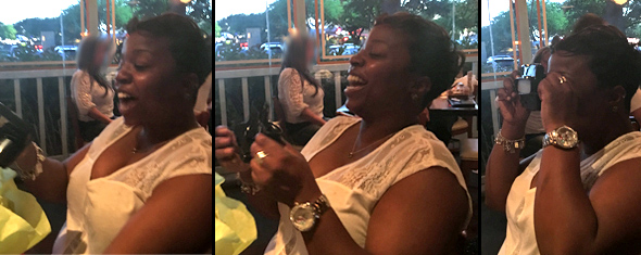 Happy Reaction to a Custom Reel Birthday Present