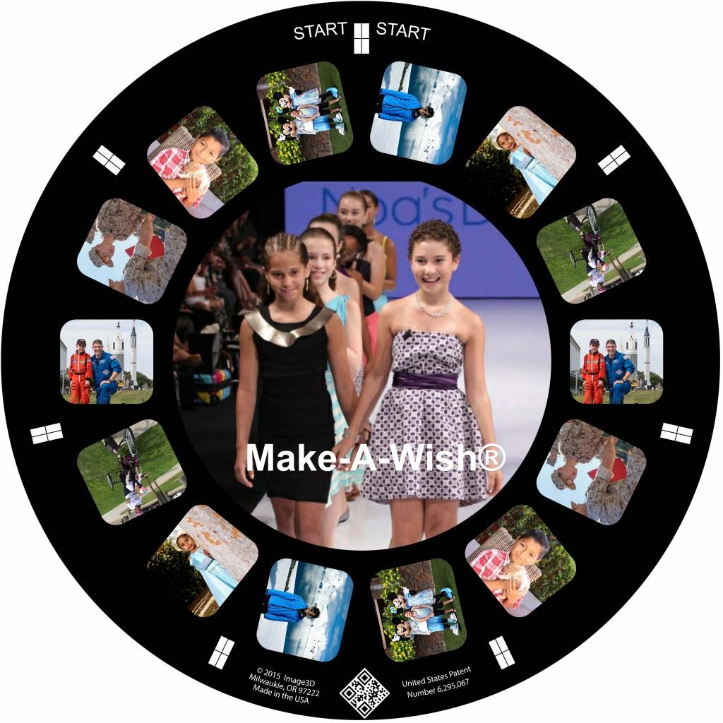 Make-A-Wish Custom RetroViewer Reel