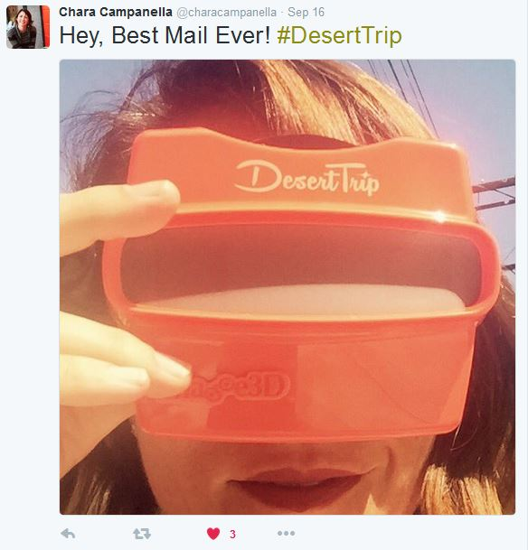 Desert Trip Concert Viewer and Reel Mentions