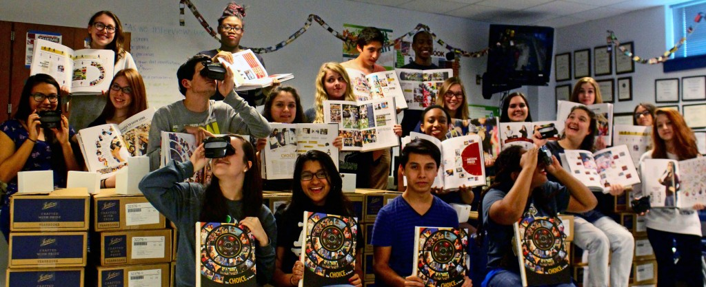 Yearbook students enhance yearbook with custom RetroViewers