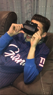 An anniversary gift that makes him smile, a custom RetroViewer