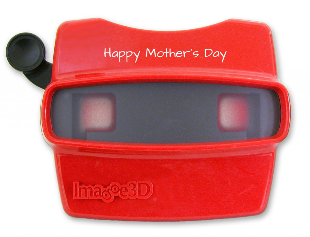 A customized Mother's Day RetroViewer
