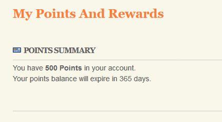 RetroViewer Rewards Points Balance