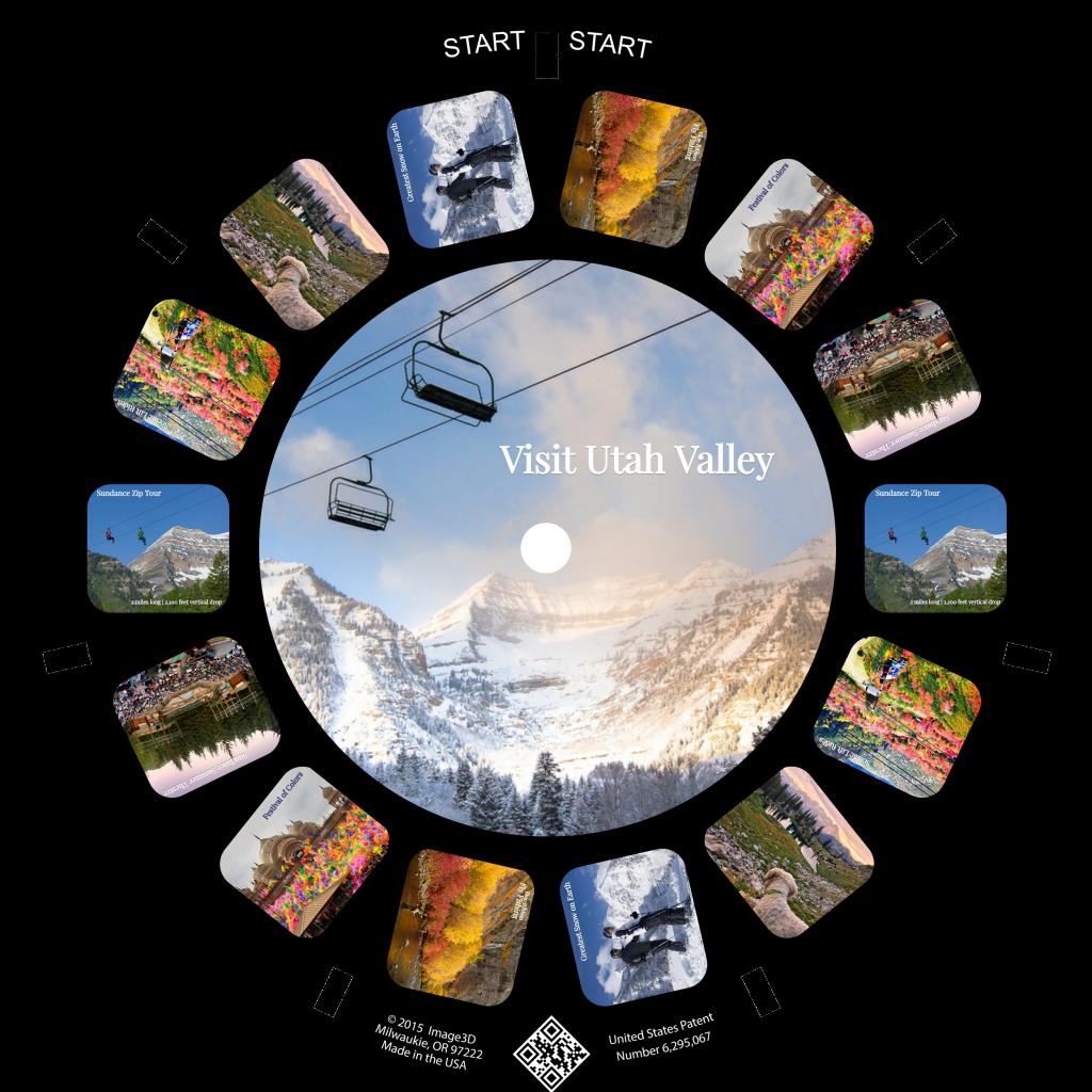 Visit Utah Custom RetroViewer Reel 2