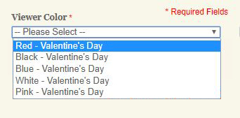 Choose a Valentine Viewer