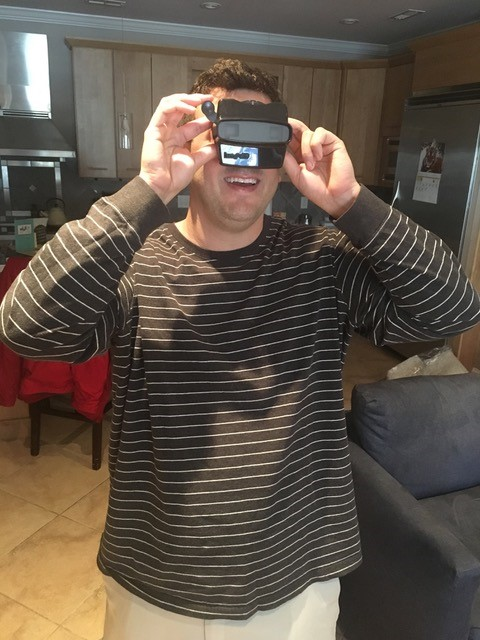 Katie's husband loves his RetroViewer gift