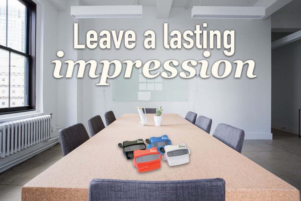 Leave a lasting impression with a 3D viewer and reel
