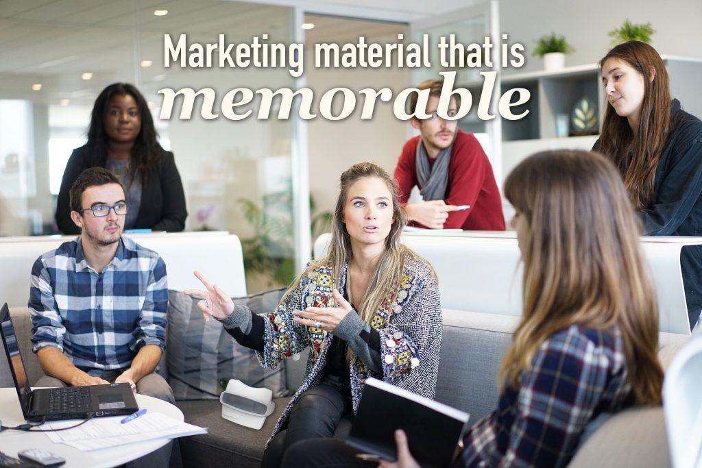 Custom Reels make memorable marketing material