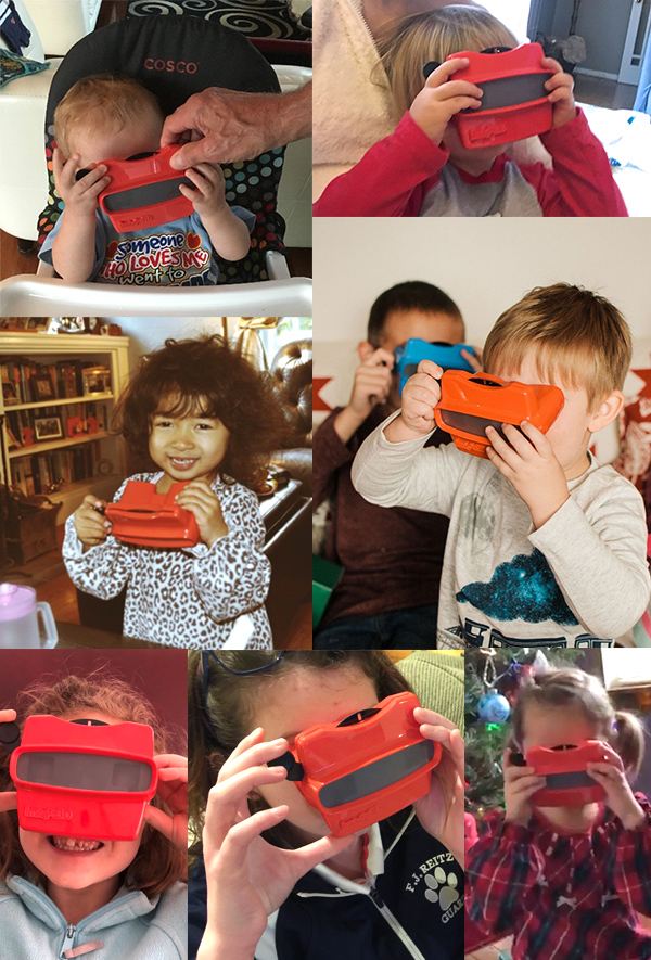 Kids love RetroViewer