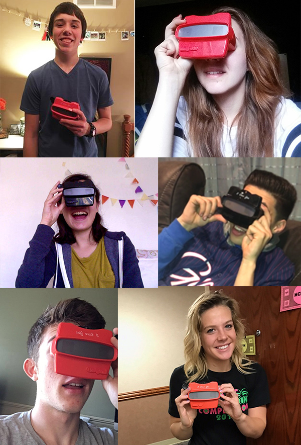 Teens and young adults love RetroViewer