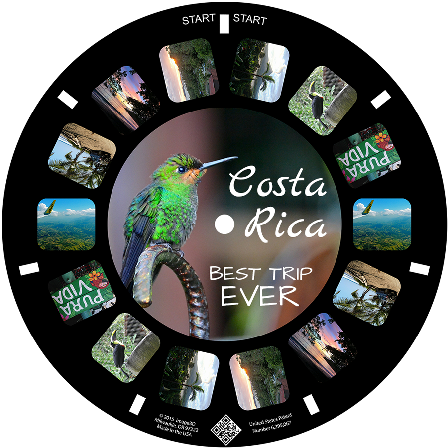 A trip to Costa Rica remembered on a custom reel